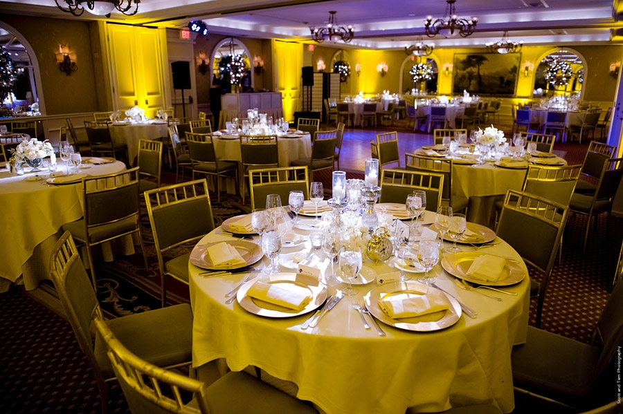 Rosewood Mansion on Turtle Creek Reception Setup