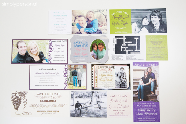 Altar Ego Paperie Save-the-date ideas