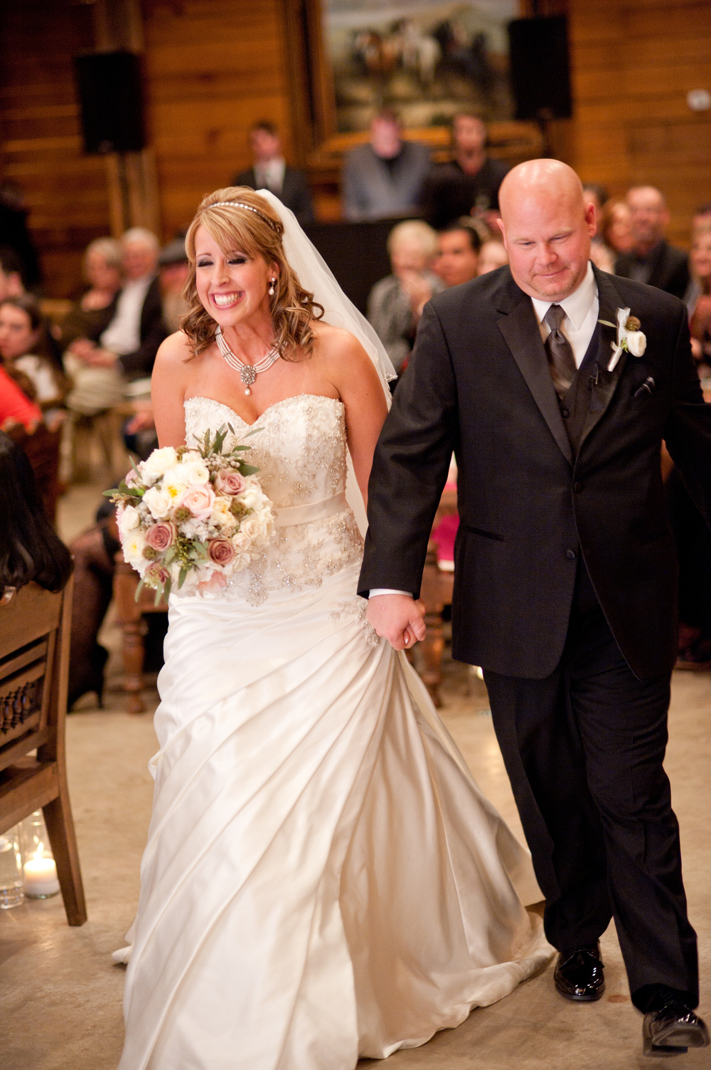 Classic Oaks Ranch Wedding Recessional