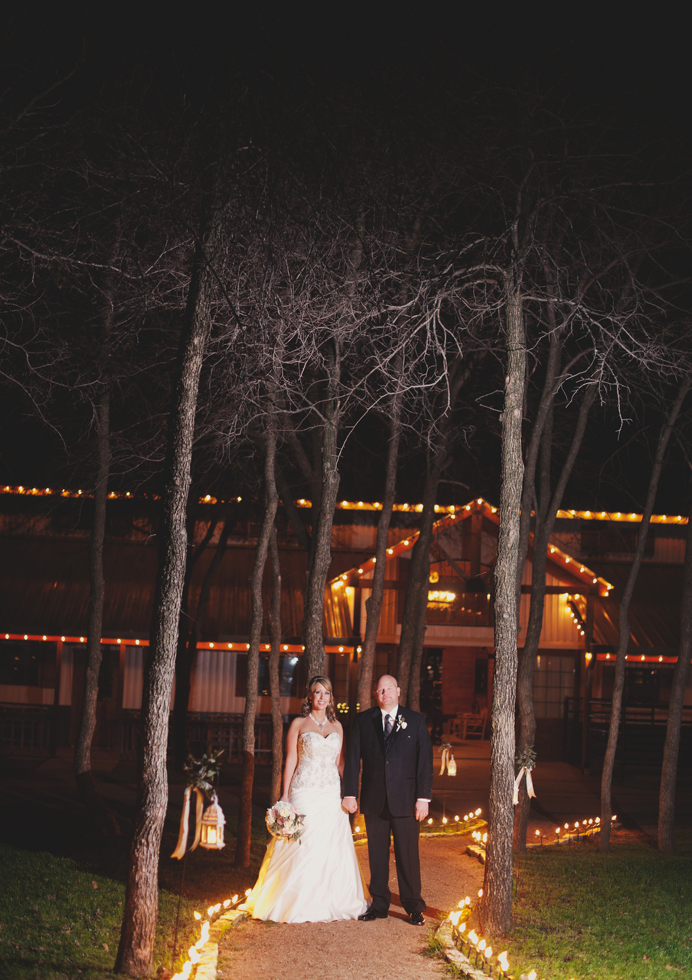 Classic Oaks Ranch Bride & Groom