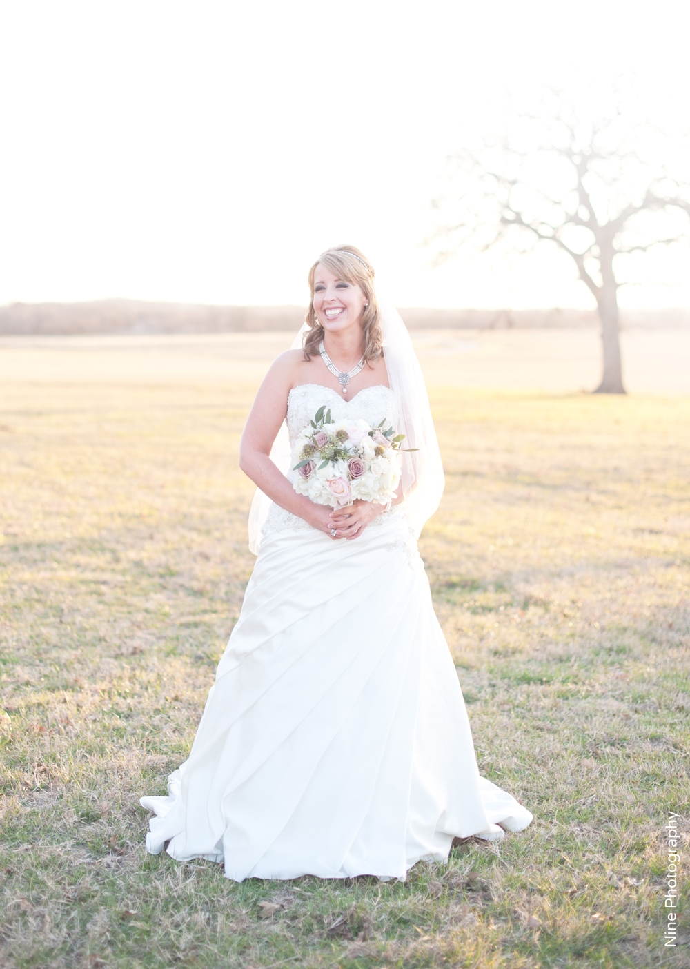 Classic Oaks Ranch Bridal Portrait