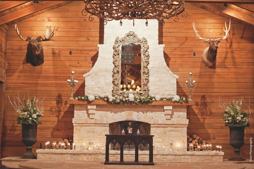 Classic Oaks Ranch Wedding Ceremony Setup