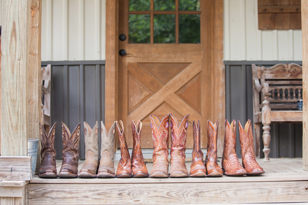 Classic Oaks Ranch Groom and Groomsmen Boots