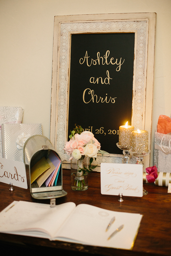 Wedding Guest Sign-in Table
