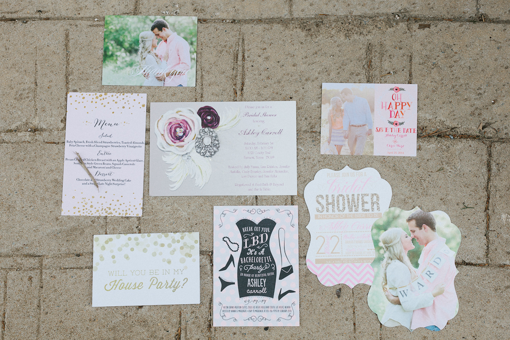 Wedding and Shower Stationery