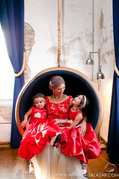 Red Wedding Gown Dress Red Flower Girl Dress NYLO Dallas