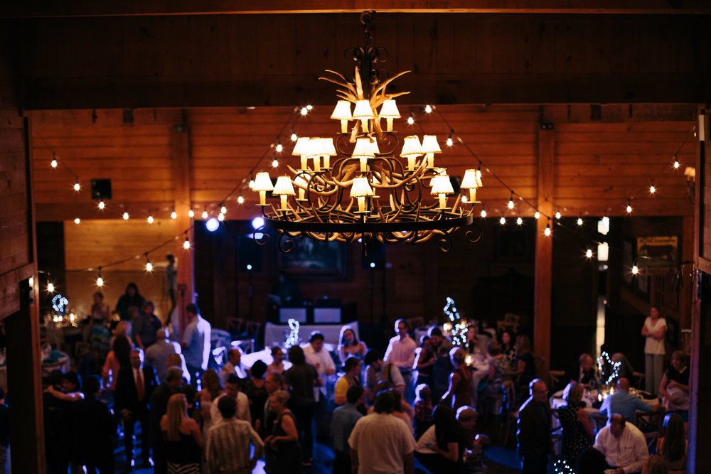Classic Oaks Ranch Barn Reception