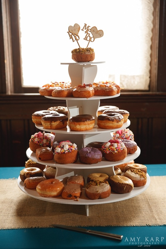 Wedding Hypnotic Donut Display