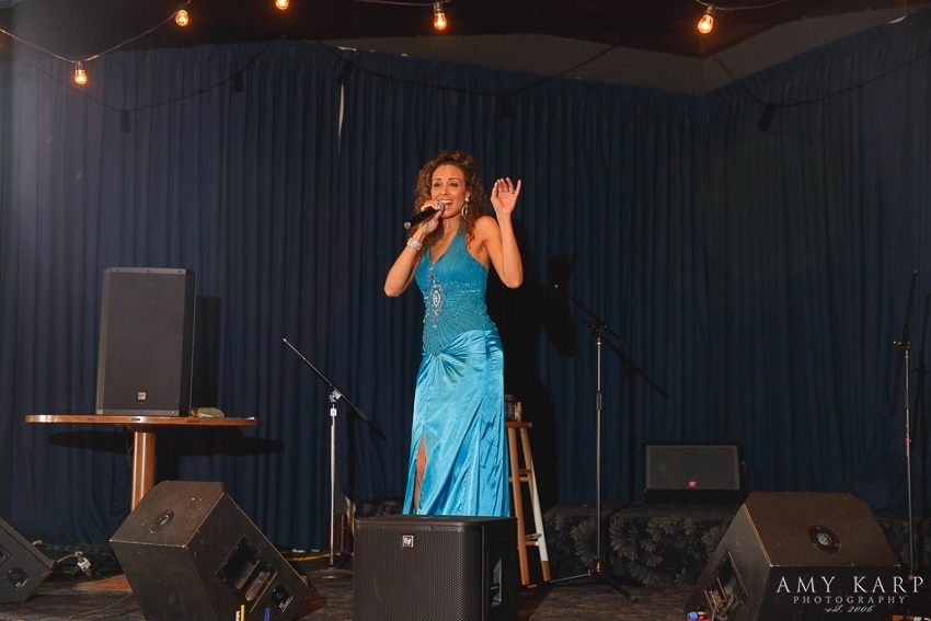 Aubree Anna Lounge Singer Wedding