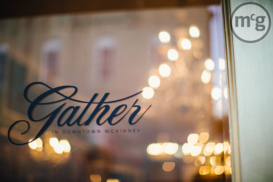 Gather in McKinney Logo