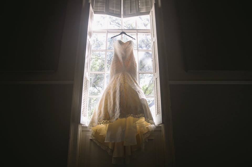 Bridal Gown in Natural Light