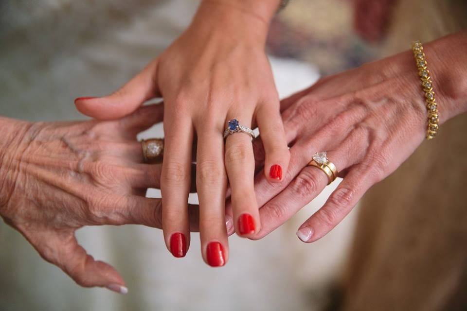 Wedding Rings 3 Generations