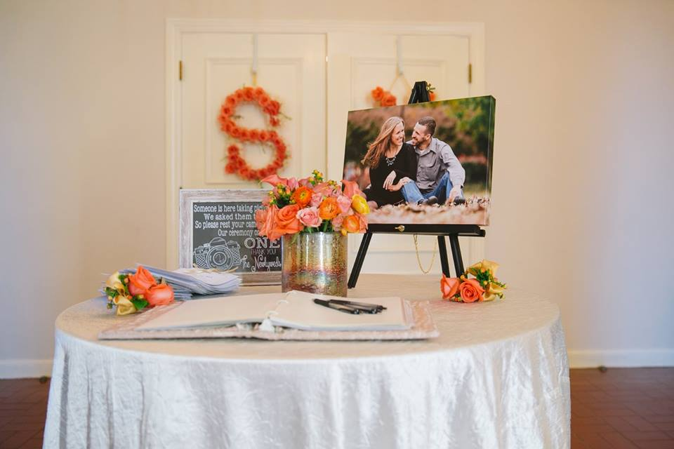 Wedding Sign-In Table