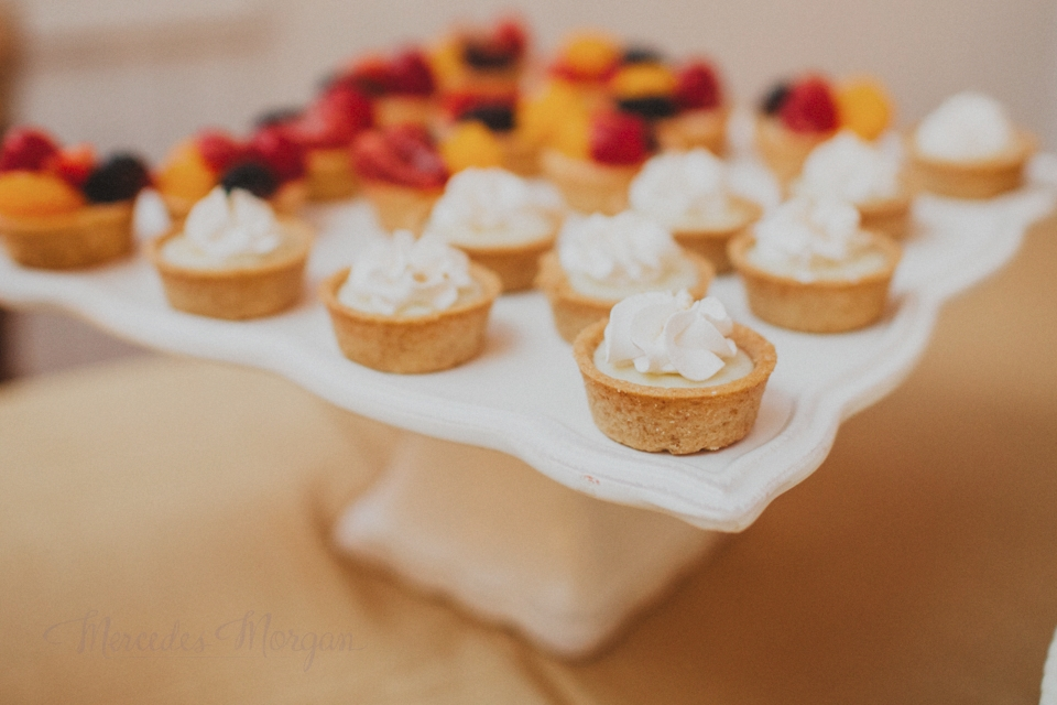Sweet Treets mini-tarts wedding