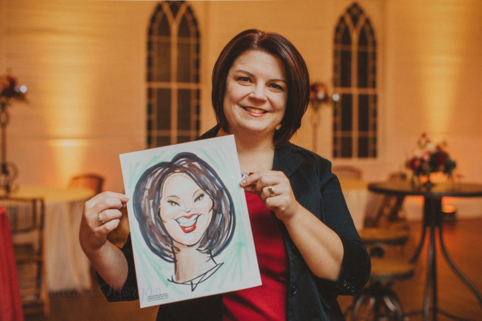 Caricature for wedding