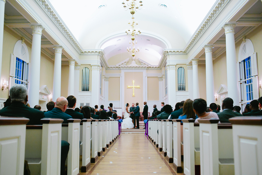 SMU Perkins Chapel Wedding