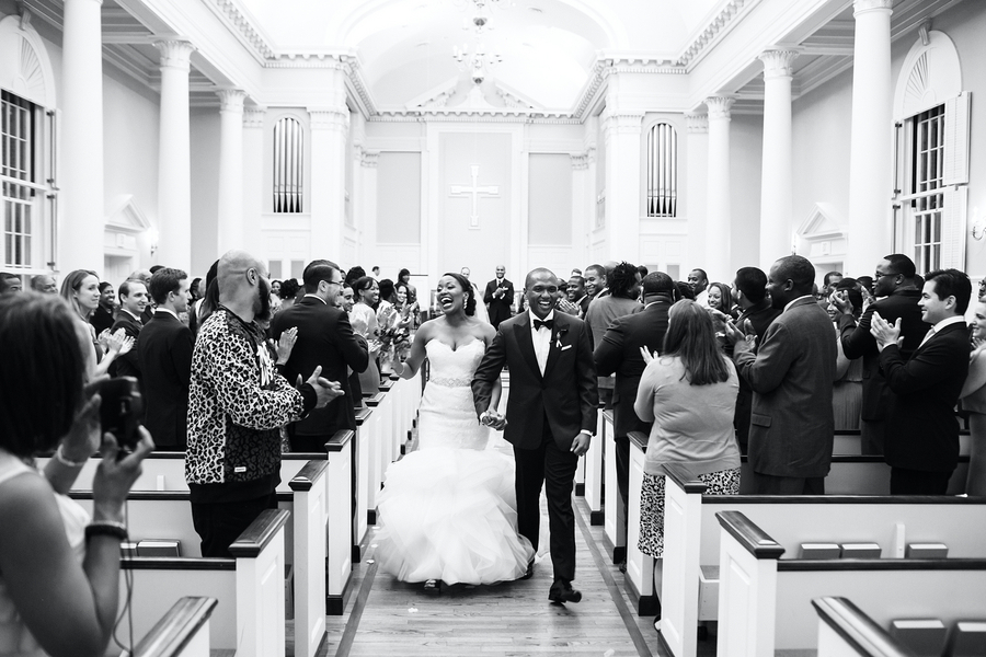 SMU Perkins Wedding Recessional