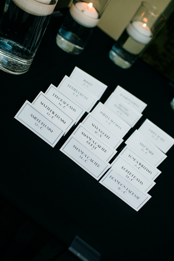 Gatsby Escort Cards
