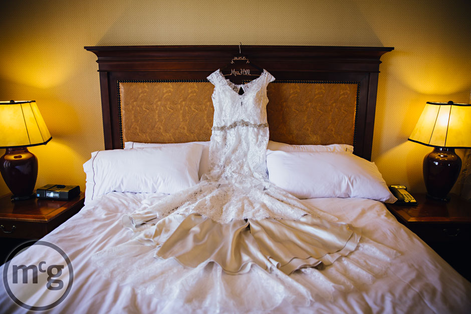 Wedding gown at Renaissance Worthington