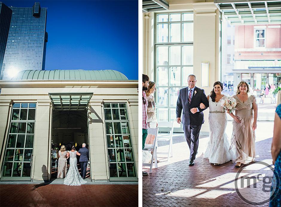 Sundance Square Pavilion Bridal Processional