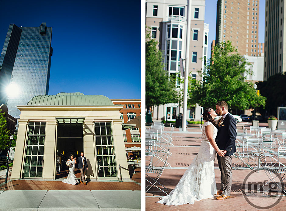 Dowtown Fort Worth Bride & Groom