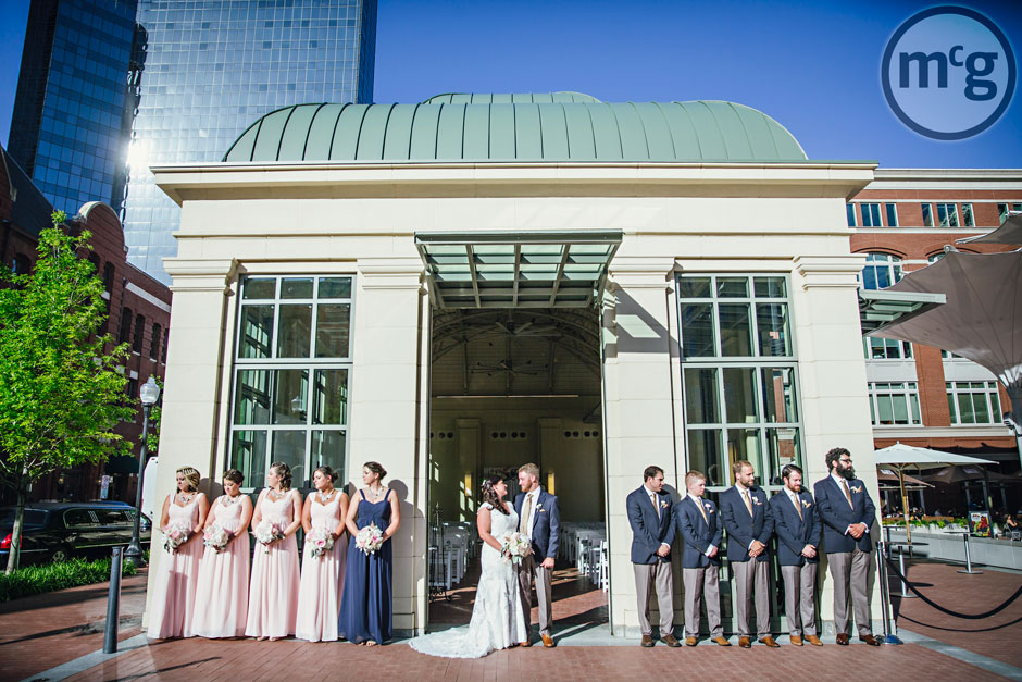 Bridal Party Sundance Square Pavilion