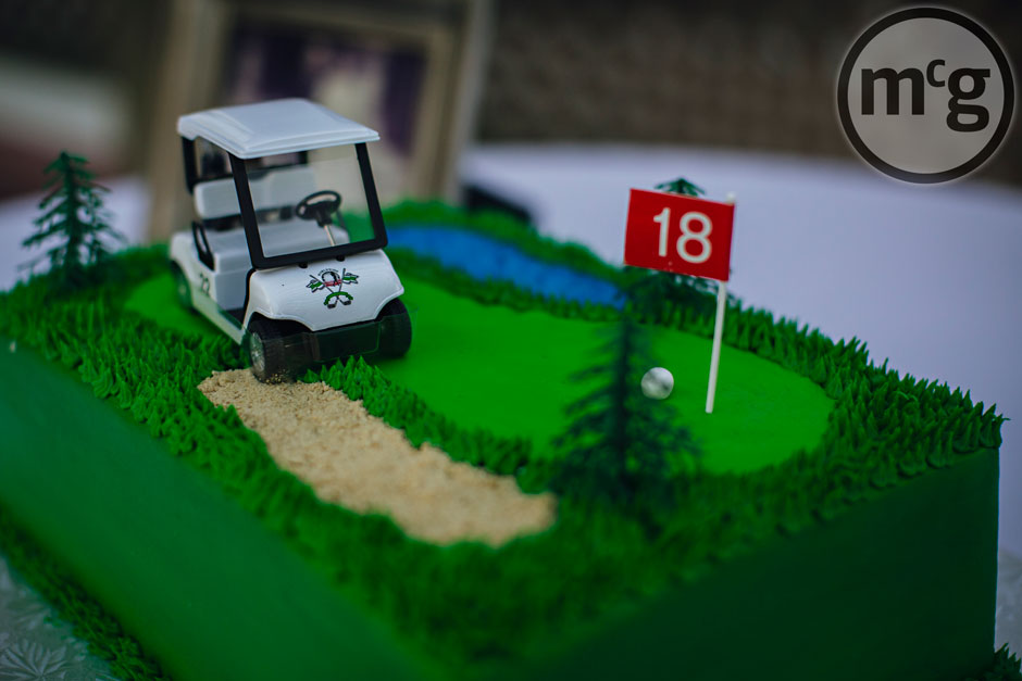 Golf Course Groom's Cake