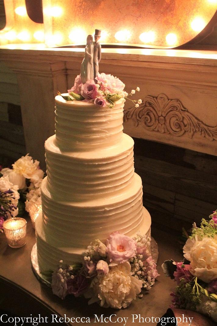 Classic Cakes by Lori Wedding Cake Messy Buttercream