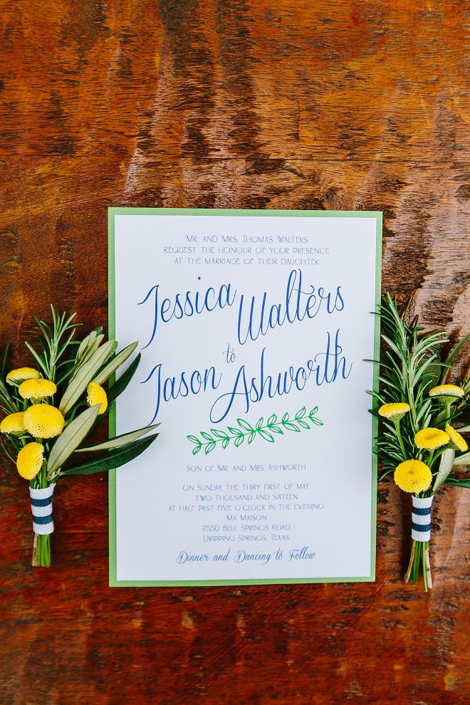 Brides of Austin Wedding Invitation from Altar Ego Paperie
