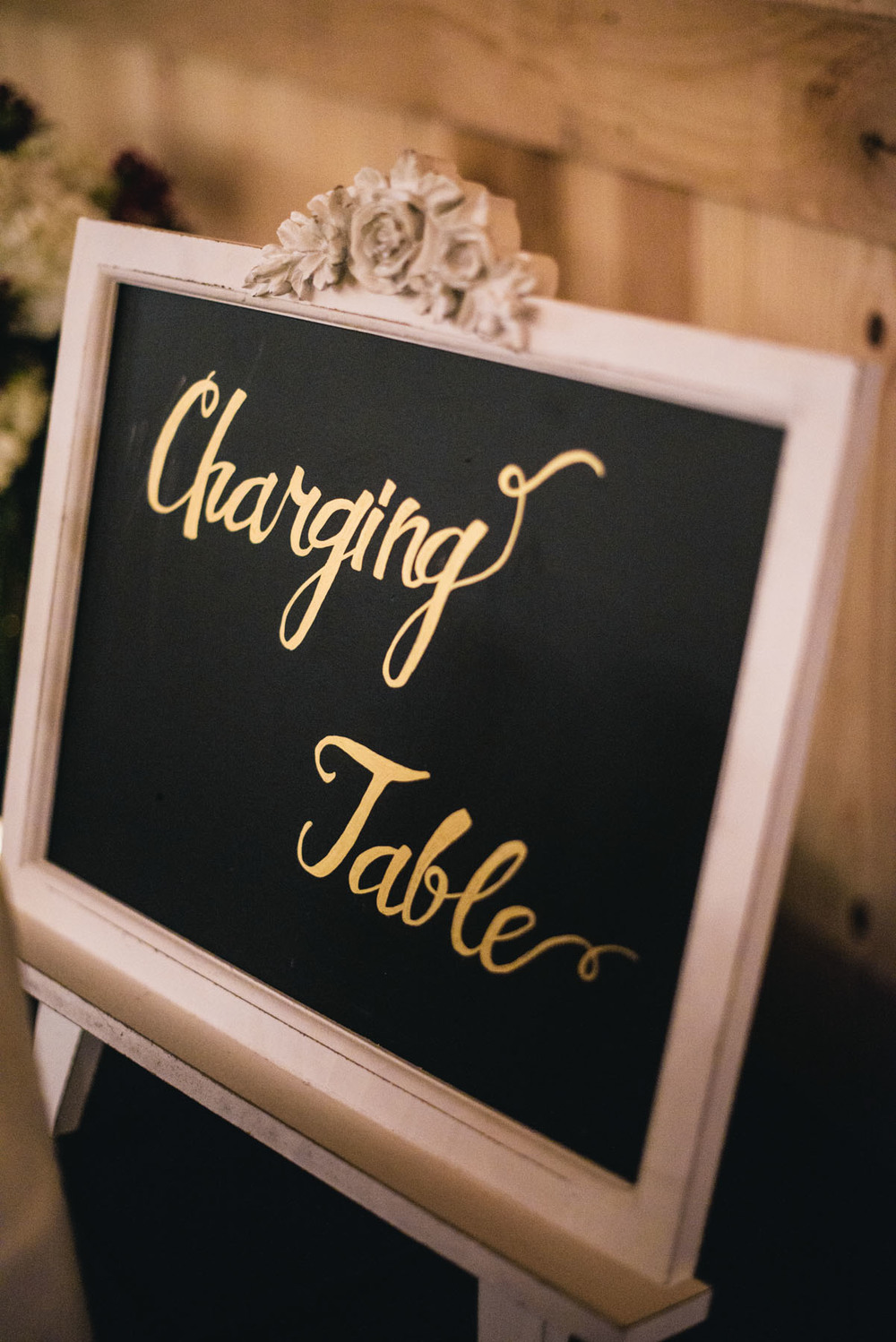 Wedding Charging Table Sign