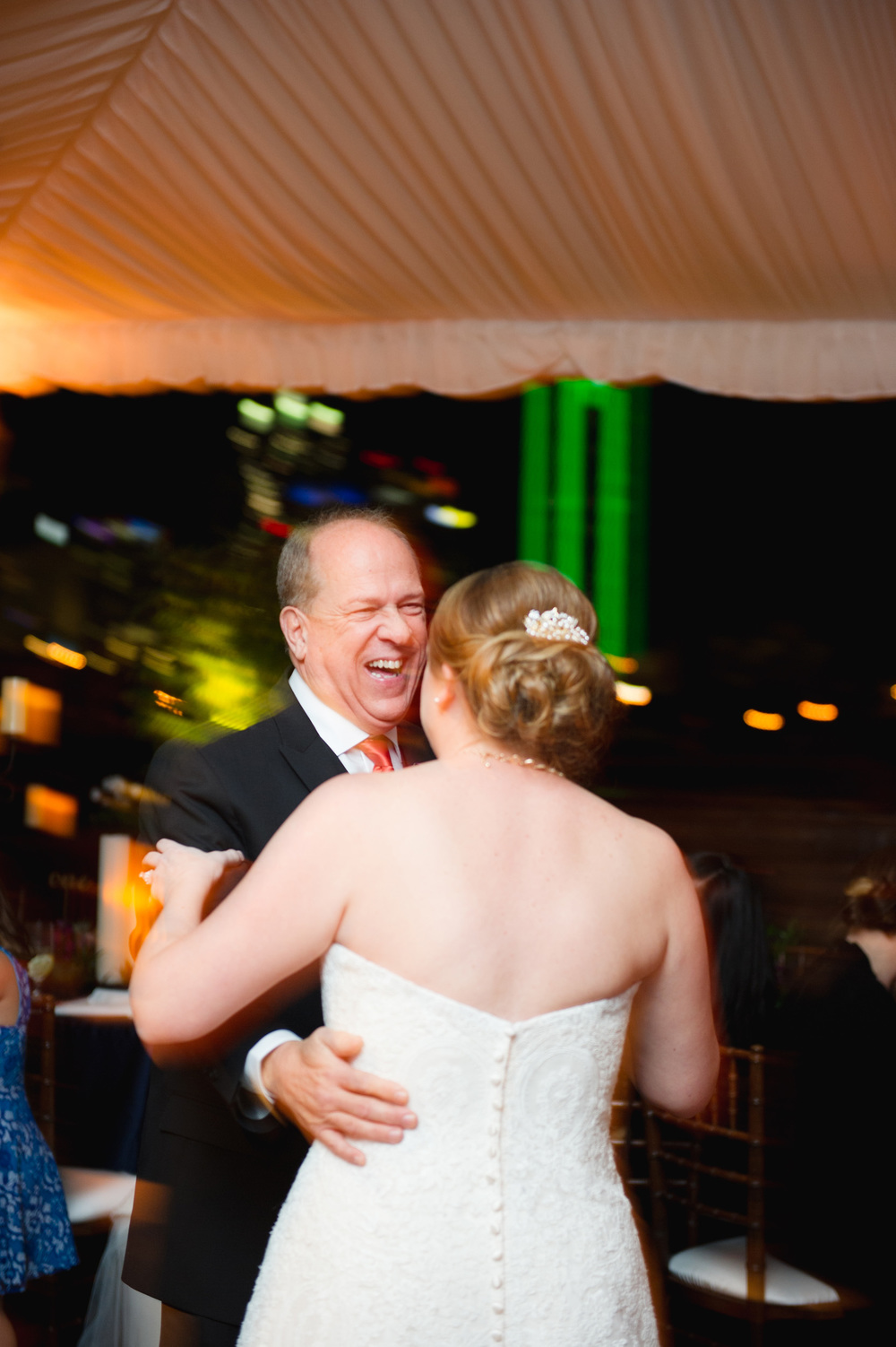 Father-Daughter Dance Dallas Skyline
