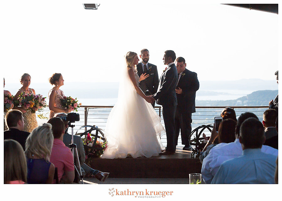 Mansfield on Lake Travis Wedding Ceremony