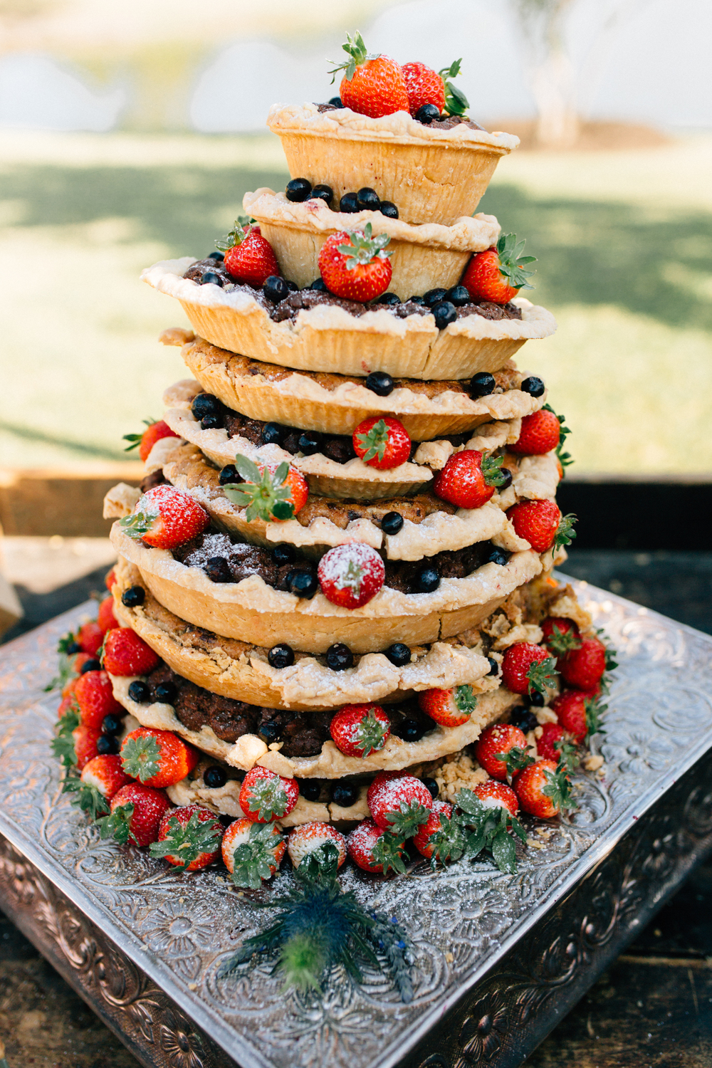 Wedding Pie Tower