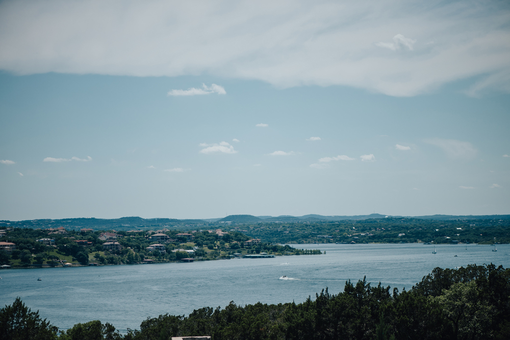 Vintage Villas Lake Travis view