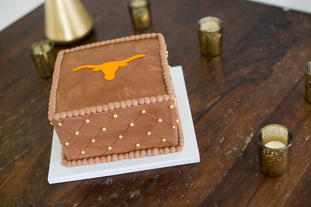University of Texas groom's cake