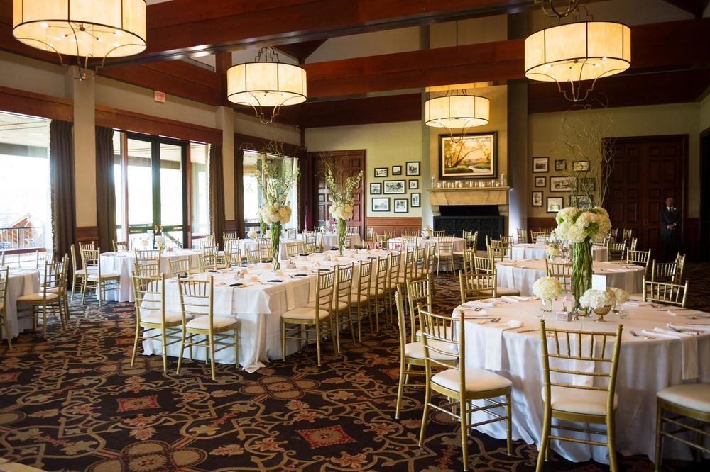 Gleneagles Country Club ballroom