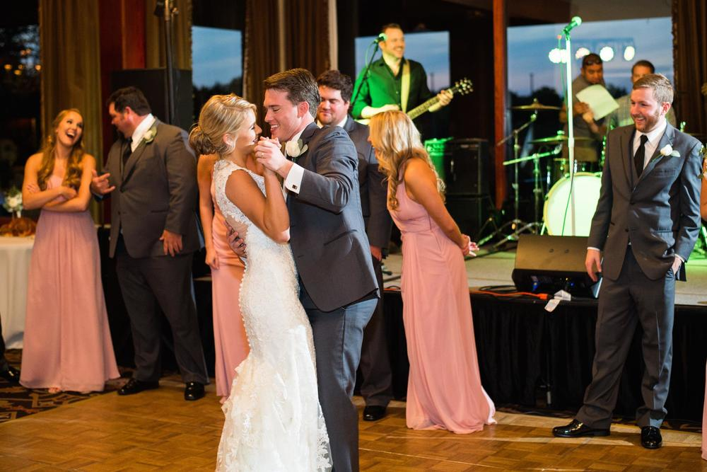 Bride & groom first dance
