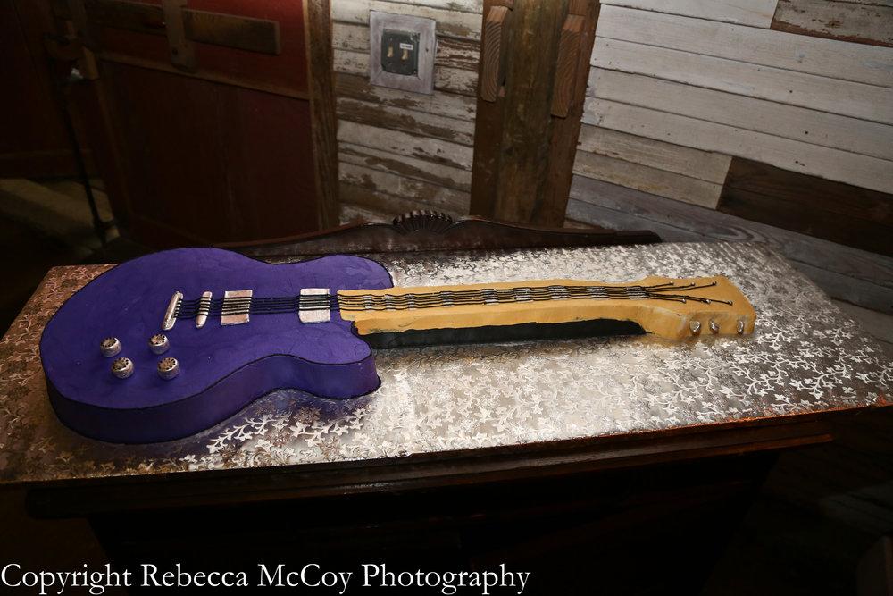 purpleguitargroomscake