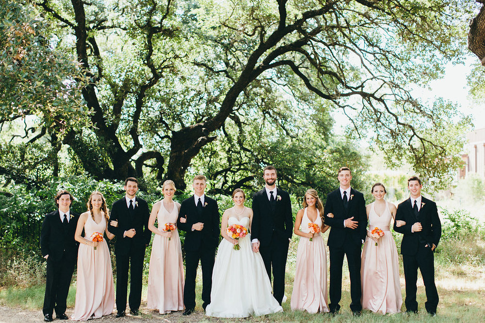 Bridal party portrait at Brodie Homestead - www.grantdanielsphotography.com