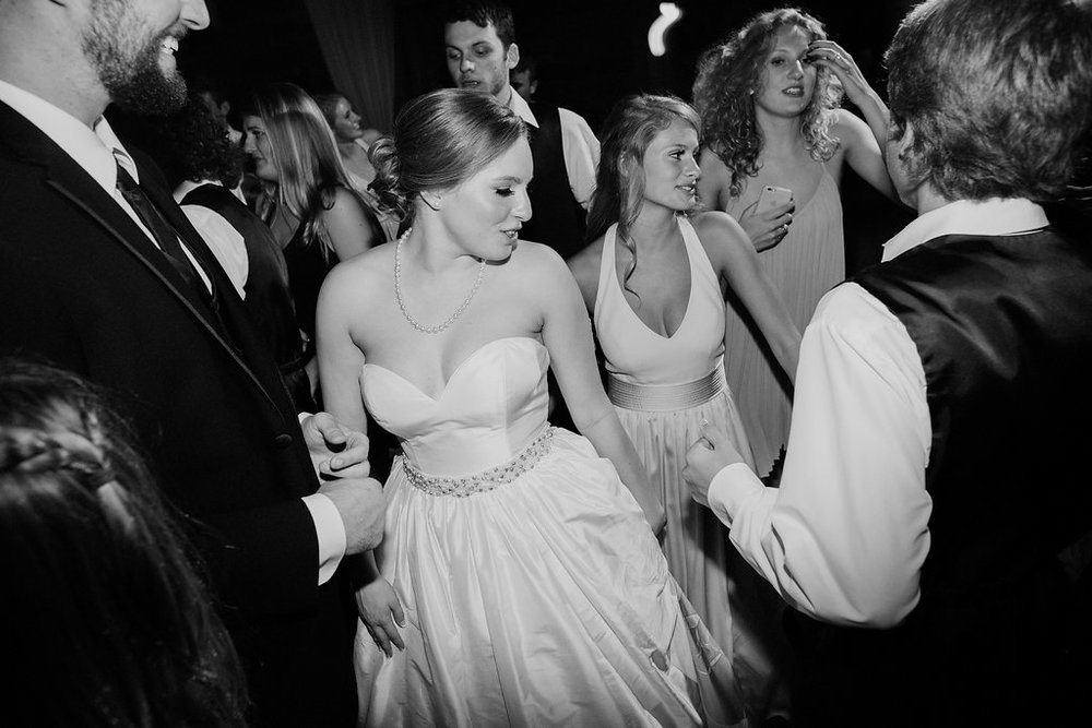 Bride & groom dancing at Brodie Homestead - www.grantdanielsphotography.com