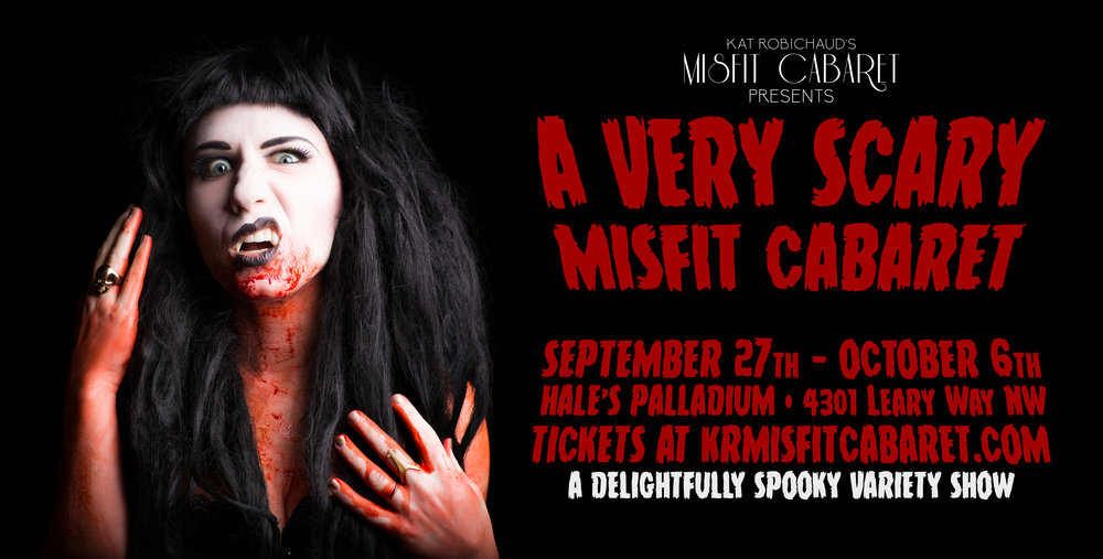 Click here for tix to A Very Scary Misfit Cabaret!