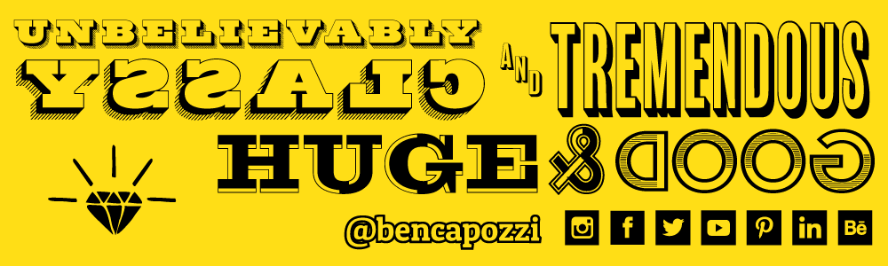 Header image for my new TeePublic storefront at http://www.teepublic.com/user/bencapozzi