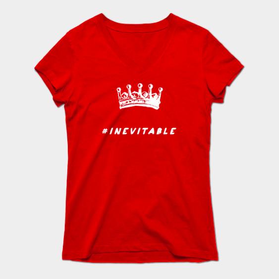 Clinton Crown #INEVITABLE at http://teepublic.com/user/bencapozzi