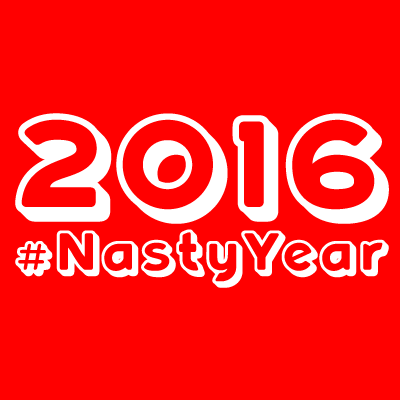 New 400x400 Twitter profile pic; no longer my face but an icon of the Nasty Year design. Not sure I like it.