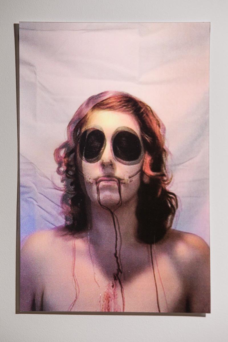 Jess Taylor,Vulnerable (3),Lenticular Print, 2013 Photography James Feld