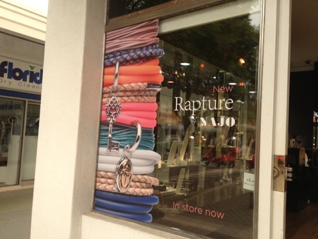Window Decals for Najo - Retail Displays