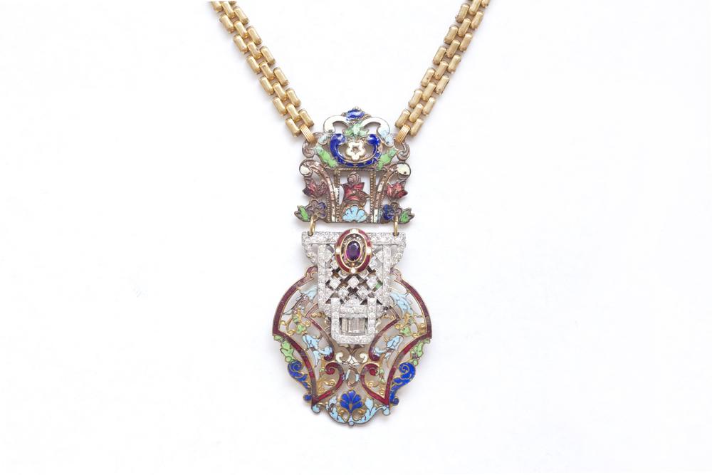 Oriential Tribune Necklace, Spring Preview
