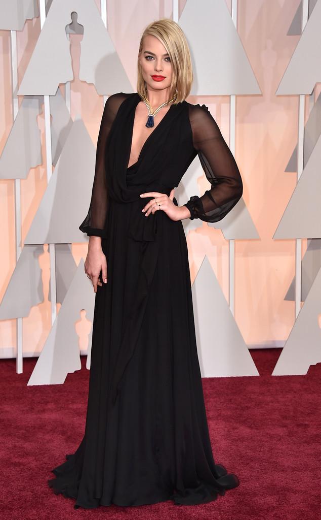Margot Robbie Oscar 2015