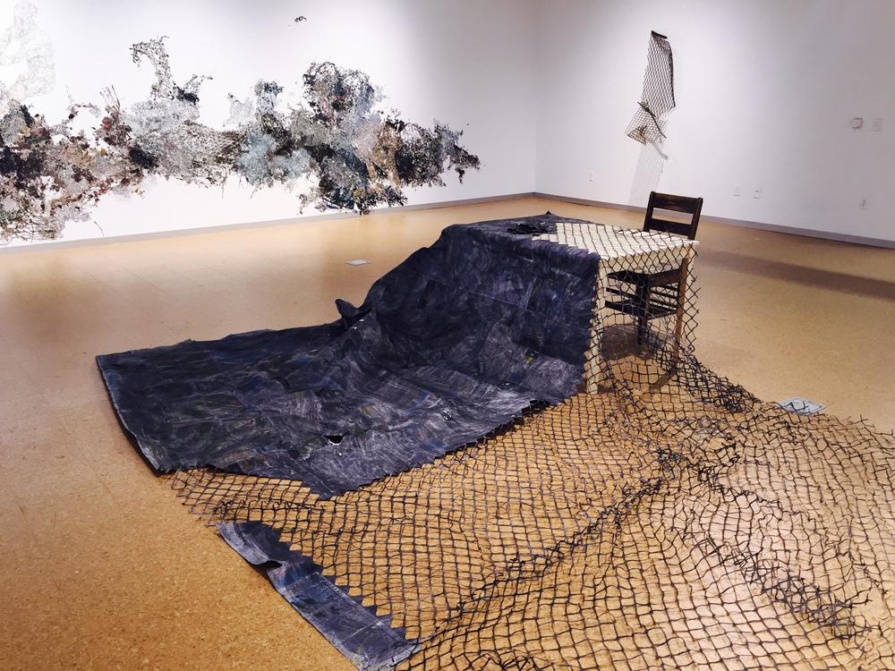 Line . Solo Exhibition Levitt Gallery Iowa City, IA