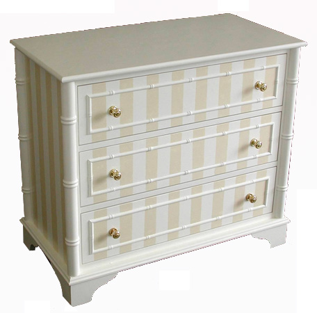 Painted Bamboo Chest #1082